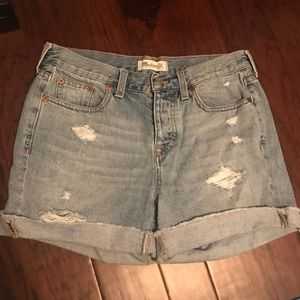Madewell high rise size 26 shorts